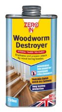 Zero In Woodworm Destroyer - 250ml Can